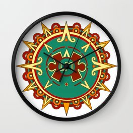 LM Sol De Mexico Wall Clock