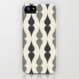 Remington in Charcoal iPhone Case