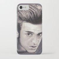 garfield iPhone & iPod Cases featuring Garfield smoulder by Lauren Elena