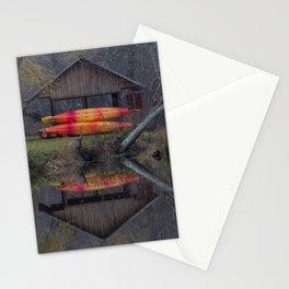 Watson Mill Boathouse Stationery Cards