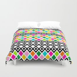 DIAMOND - White Duvet Cover
