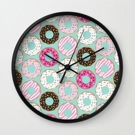 Delicious Donuts Wall Clock