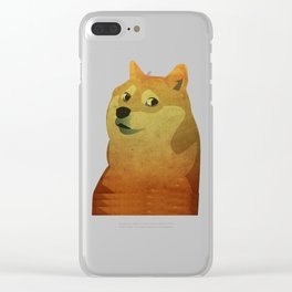 Doge Clear iPhone Case