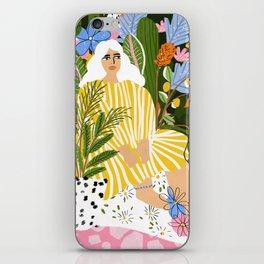 The Jungle Lady iPhone Skin