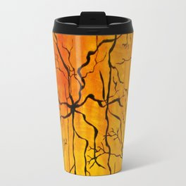 Neural Activity (An Ode to Cajal) Travel Mug