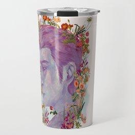 STURDMAN WITH FLOWER DECORATION Travel Mug