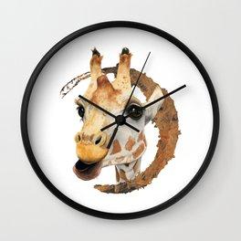 """Chew"" 2 Wall Clock"