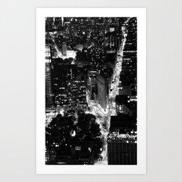 NYC Night Art Print