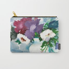 Flowers. Watercolor Bouquet Carry-All Pouch