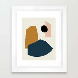 Shape study #1 - Lola Collection Framed Art Print