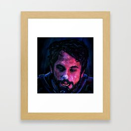 Charlie Kelly: Go F*** Yourself (original artwork) Framed Art Print