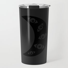With eyes Travel Mug
