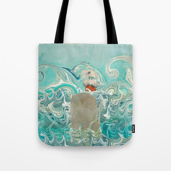 sail the seven seas Tote Bag