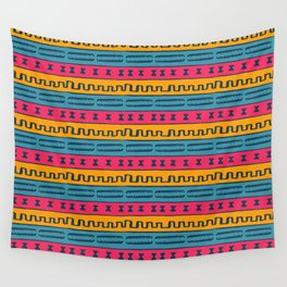 African Style Pattern Wall Tapestry