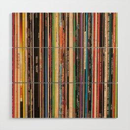 Alternative Rock Vinyl Records Wood Wall Art