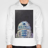 r2d2 Hoodies featuring r2d2 by Thad Taylor Art