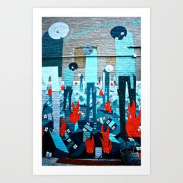 Brooklyn Escape Art Print