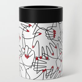 HANDS / pattern pattern Can Cooler