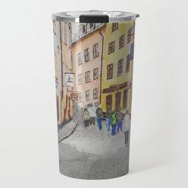 streets of stockholm Travel Mug