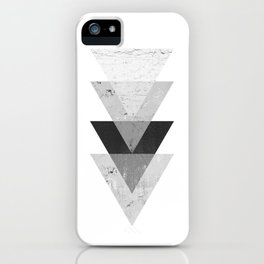 Geometric Triangle  iPhone Case