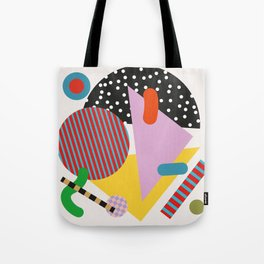 Modernist Scandinavian Geometric Tote Bag