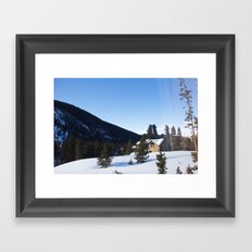 Colorado Morning Framed Art Print