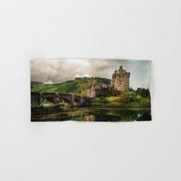 Landscape with an old castle Hand & Bath Towel