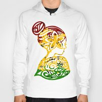 rasta Hoodies featuring Rasta Lady by Lonica Photography & Poly Designs