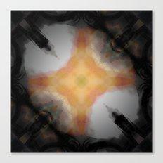 Water Rust Pattern 002 Canvas Print