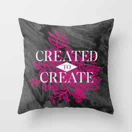 Created to create Throw Pillow