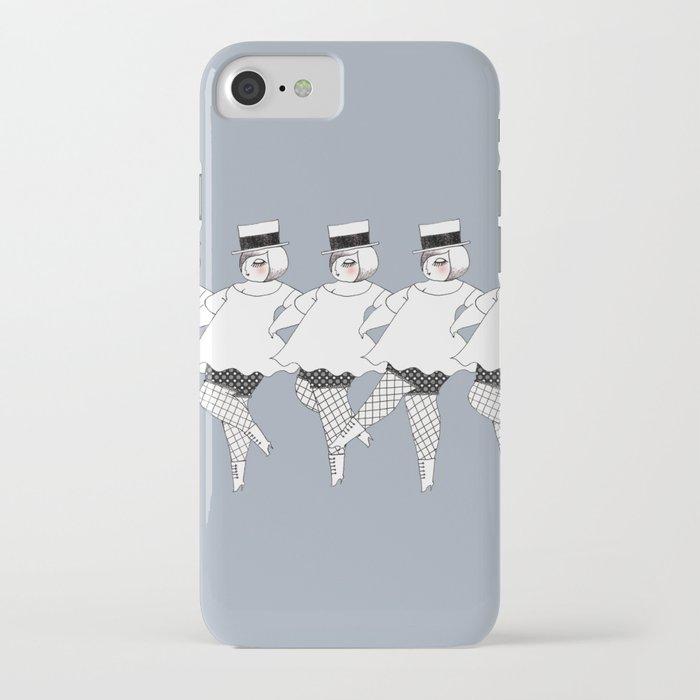 dancing girls iPhone Case
