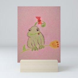 Happy  Frog Mini Art Print