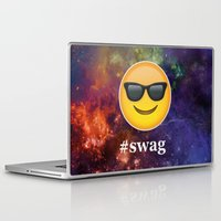 swag Laptop & iPad Skins featuring #Swag by pbstudios