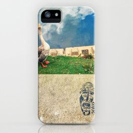 We are watching U iPhone Case