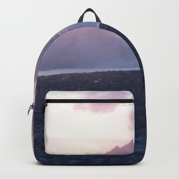 Crash into me - Romantic Sunset @ Beach #2 #art #society6 Backpack