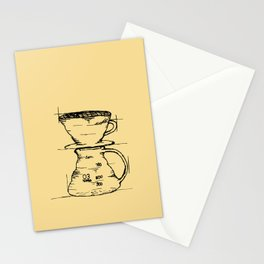 Pour Over Stationery Cards