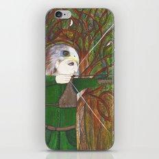 Red Kite Archer iPhone & iPod Skin