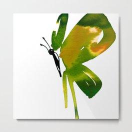 Butterfly Zen 15a by Kathy Morton Stanion Metal Print
