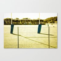 rugby Canvas Prints featuring Rugby by Sébastien BOUVIER