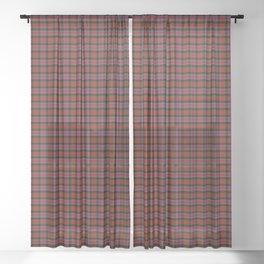Alexander Tartan Plaid Sheer Curtain