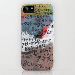 Call Me (Full) iPhone Case