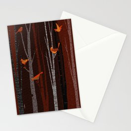 Winter Birds / 01 Stationery Cards
