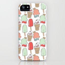 Ice Cream Cart iPhone Case