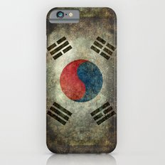 National flag of South Korea, officially the Republic of Korea, Vintage version to scale Slim Case iPhone 6s
