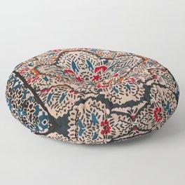 N148 - Heritage Boho Berber Traditional Moroccan Style Illustration  Floor Pillow