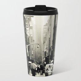 New York City - 5th Avenue in the Rain Travel Mug