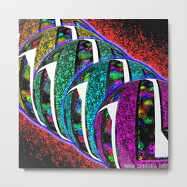 I NEEDED MORE COLOR IN MY LIFE Metal Print