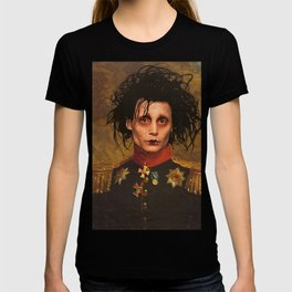 Edward Scissor Hands General Portrait T-shirt
