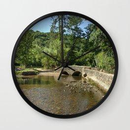 Gallox Bridge of Dunster Wall Clock