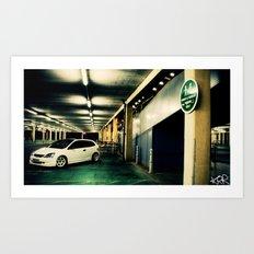 Honda civic Art Print